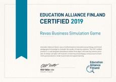 Certyfikat Education Alliance Finland